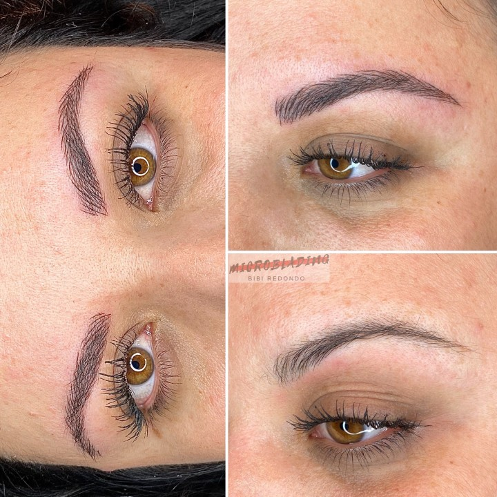 Microblading a Laura